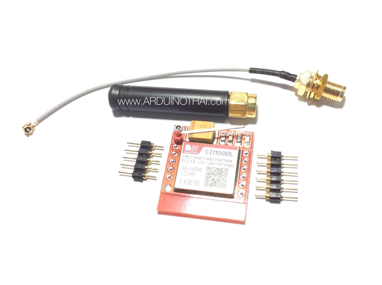 SIM800L GSM/GPRS Module Set 3 (MicroSIM)