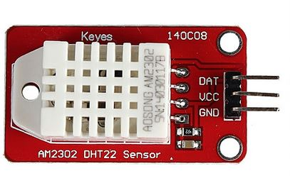 DHT22 (AM2302 temperature and humidity sensor module)