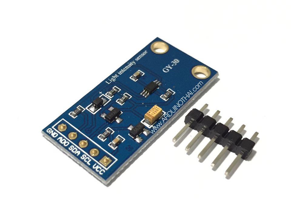 Light intensity sensor (เซนเซอร์วัดความเข้มแสง)