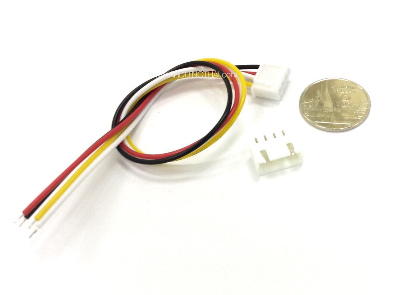 XH2.54-4P socket (สายไฟยาว 20 CM)