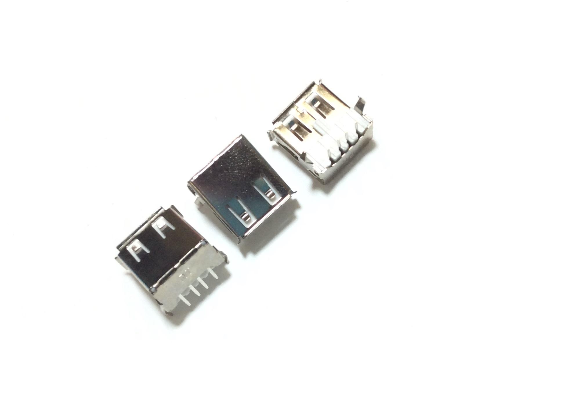 USB Socket Female Type-A 4 Pins