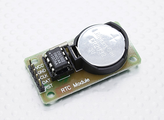 Real time clock (DS1302)