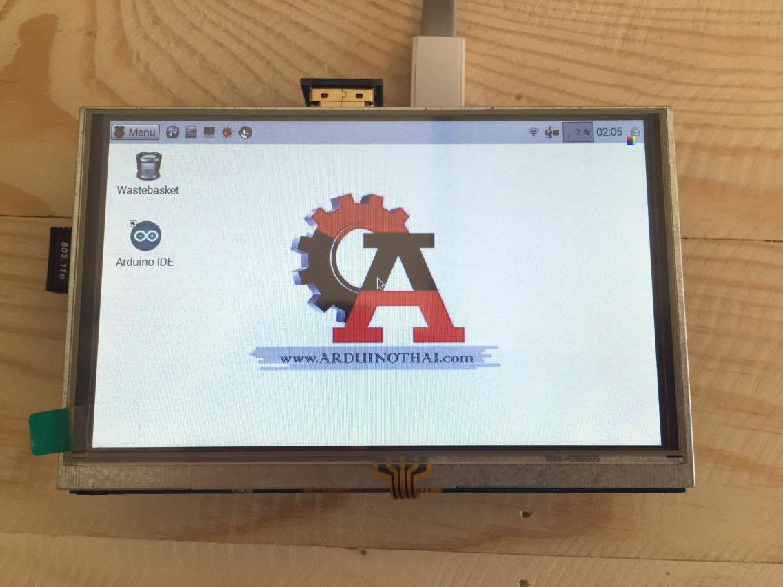 5-inch hdmi with touch screen display