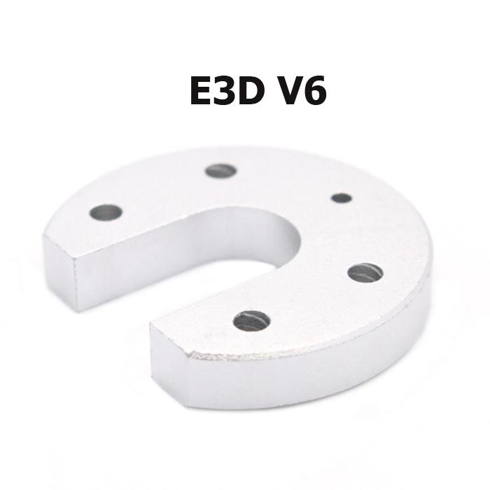 V6 Hotend Round Hotend fixed aluminum plate