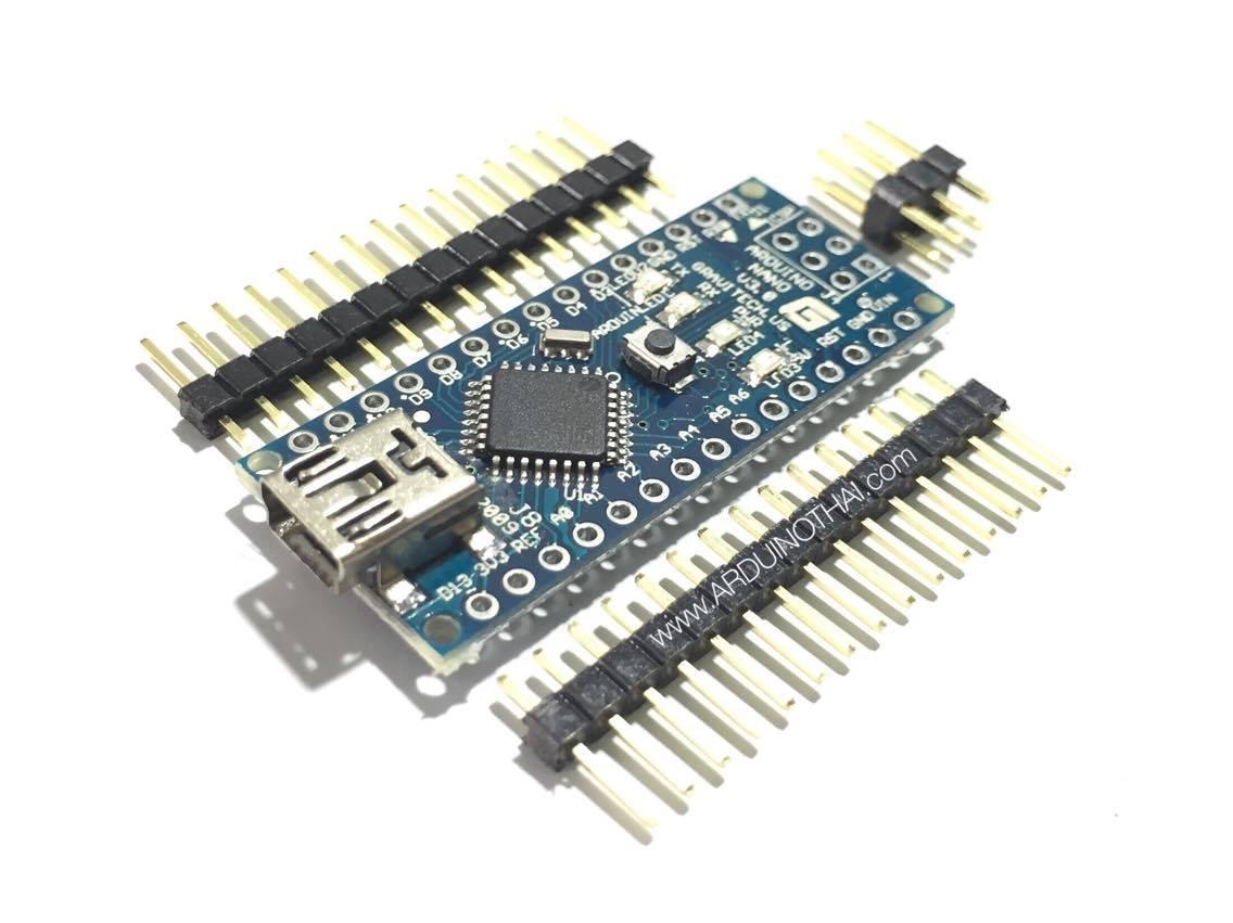 Arduino nano (แบบบัดกรีขาเอง)