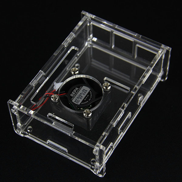 Acrylic Case for Raspberry Pi 2 Model B & Raspberry Pi B+