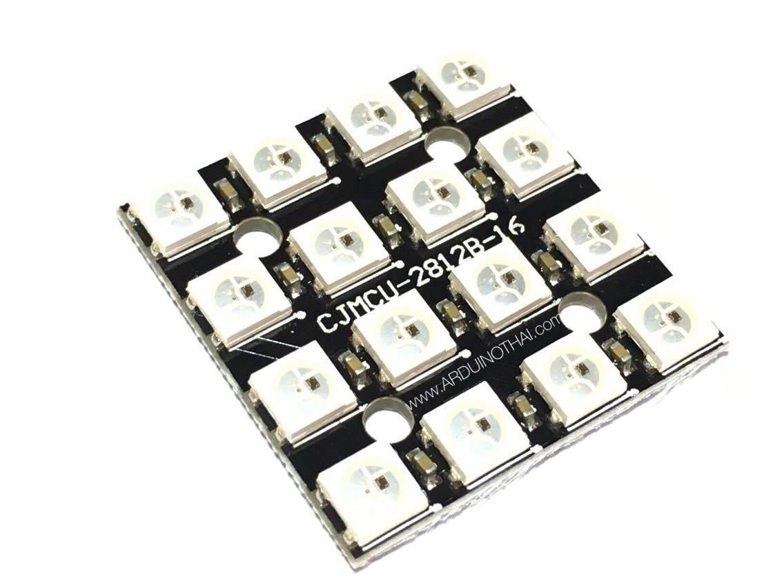4x4 WS2812 16 RGB LED