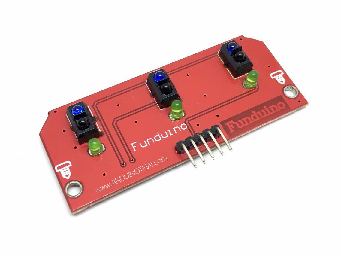 3 Channel Line Tracking Sensor Module