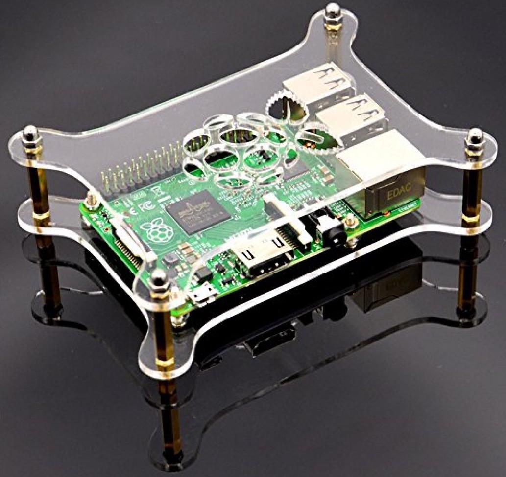 Acrylic Case for Raspberry Pi 2 Model B/B+