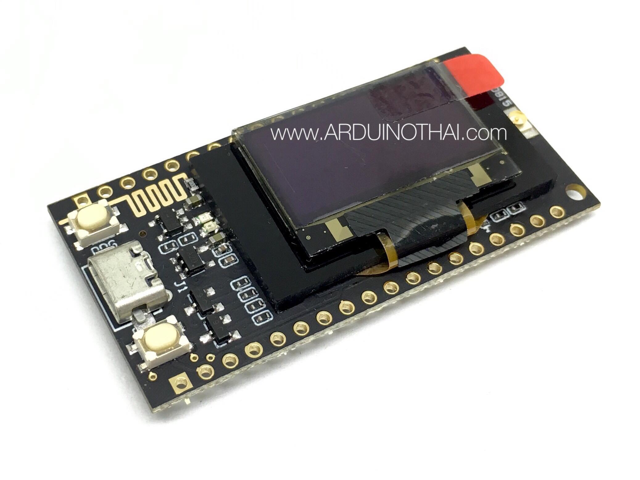 LORA SX1278 433Mhz ESP32 0.96 OLED