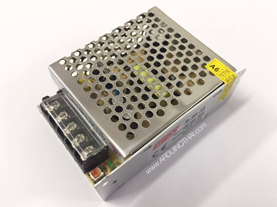 Switching 12V 5A แหล่งจ่ายไฟ 12V 5A