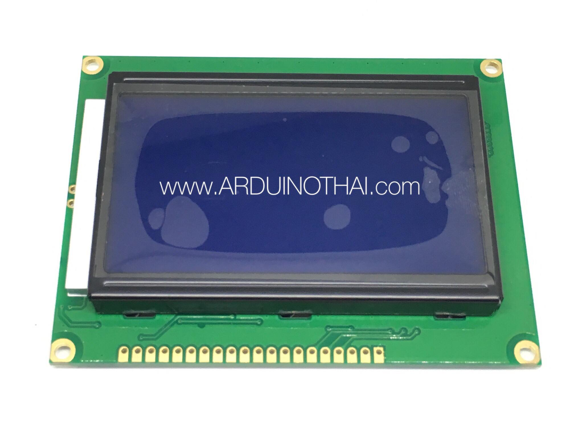 128x64 LCD Module Display (Blue Backlight)