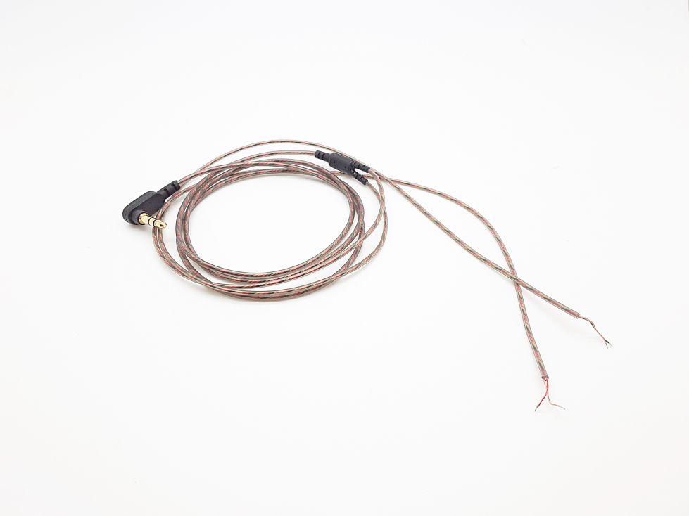 สายไฟสำหรับหูฟังแบบมาตรฐาน ทองแดง 32แกน ทองแดงล้วนปราศจากOxygen [1แพค 10เส้น]