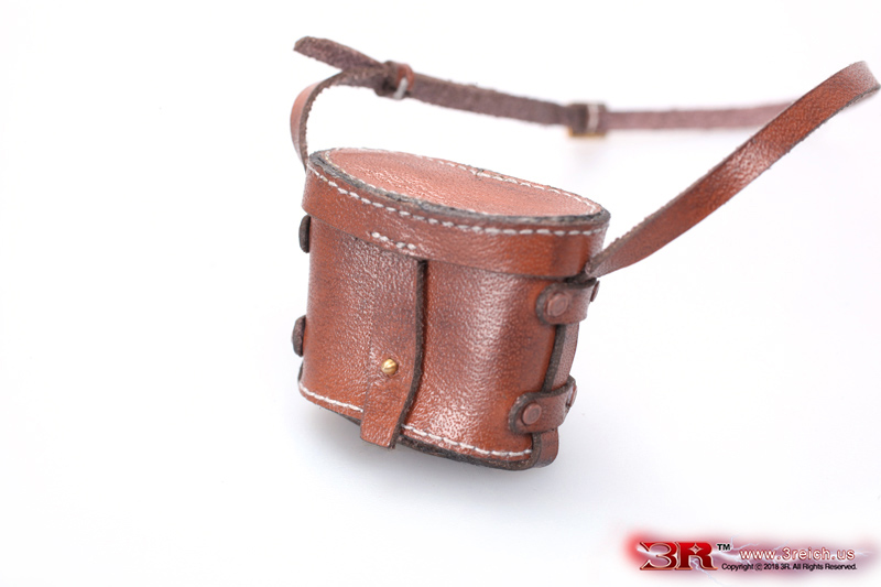 1//6 Scale Leather Map Pouch Sachio Eto 3R Action Figures