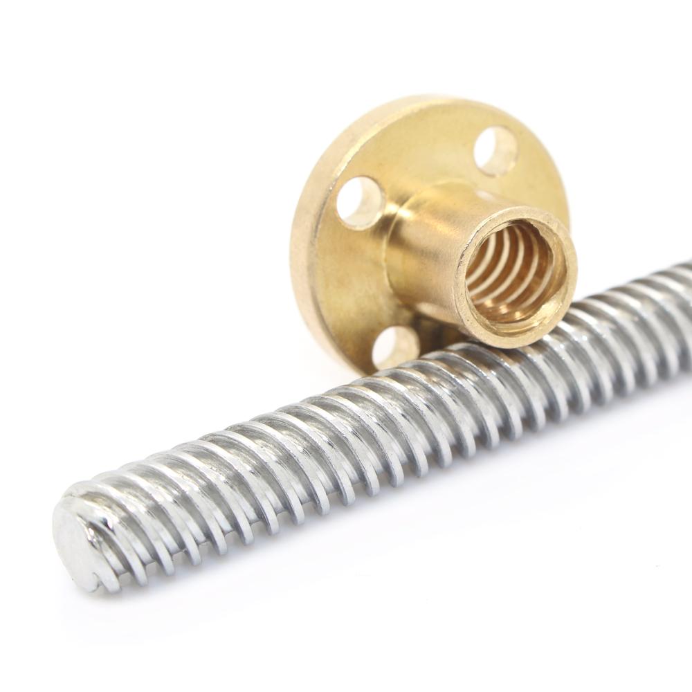 Lead Screw set (Screw+Nut) Dia8mm pitch 2mm Lead8mm
