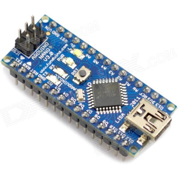 Arduino Nano 3.0 จำนวน 3 ชุด (แถมสาย Mini USB)