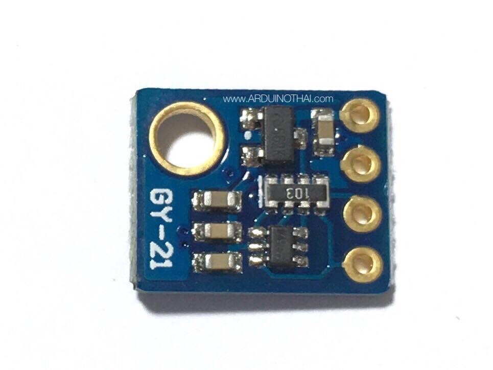 GY-21 SHT21 (เซ็นเซอร์วัดอุณภูมิและความชื้นแบบ I2C)