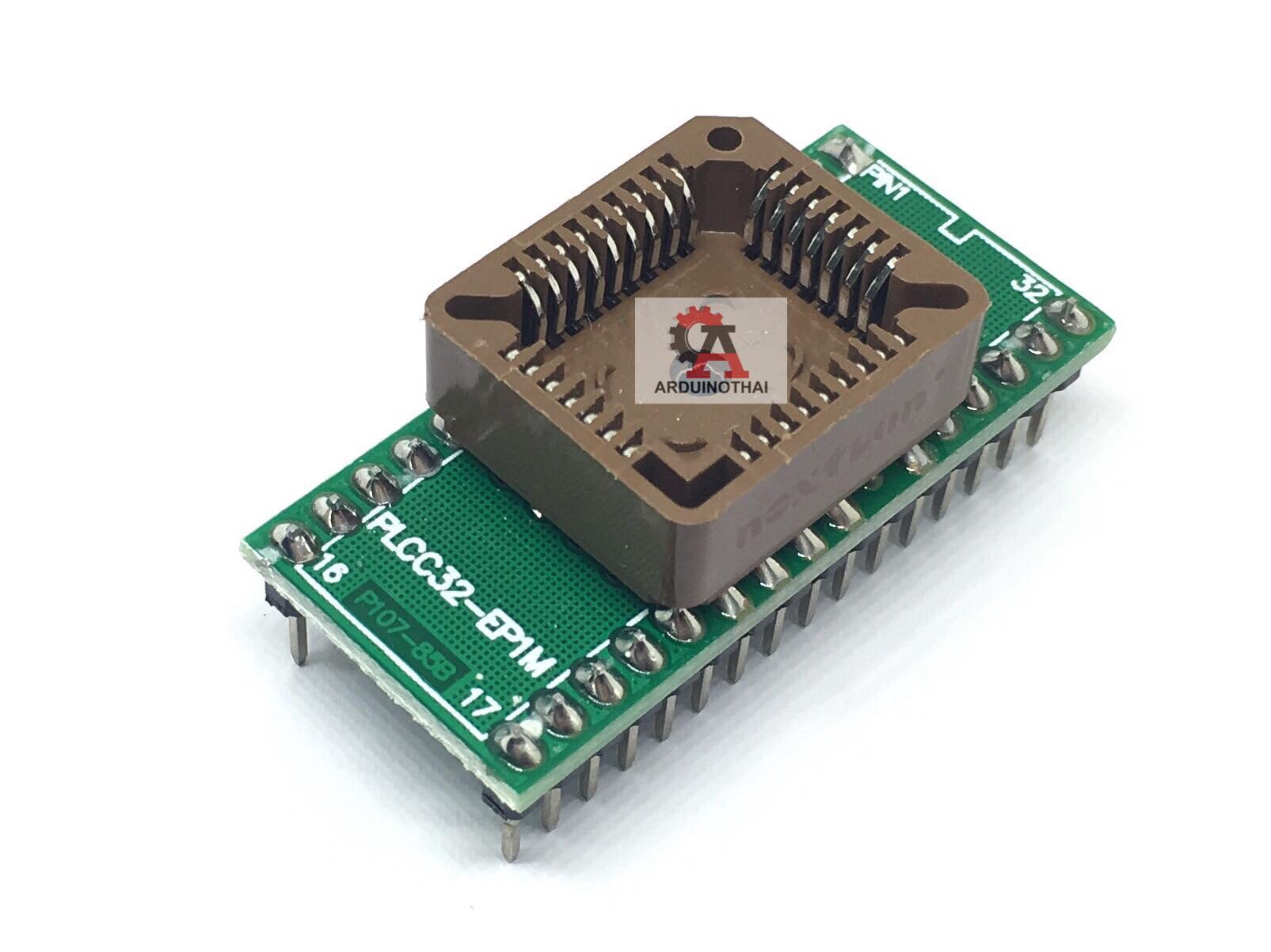 PLCC32 to DIP40 IC Test Adapter Module