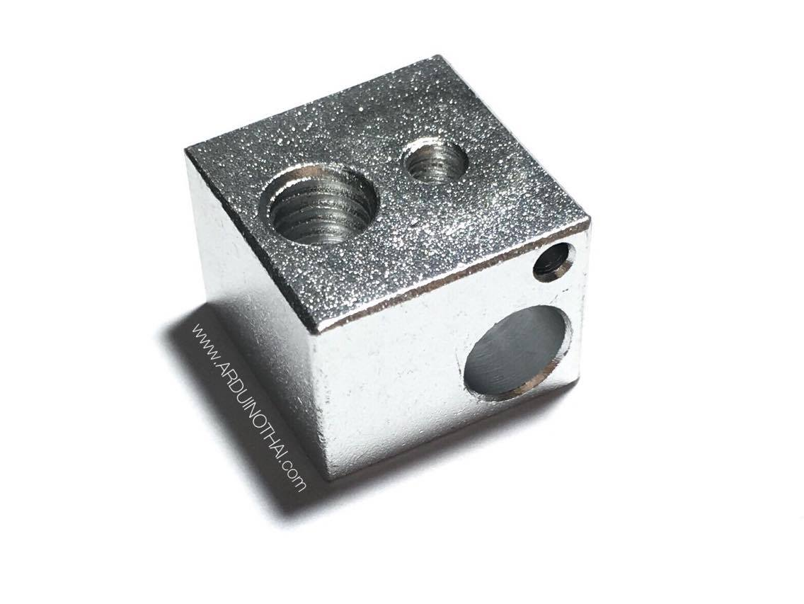 3D hot side heating block aluminum alloy