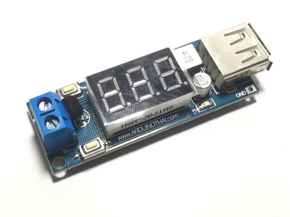 5V USB Output Converter DC 4.5V-40V to 5V/2A