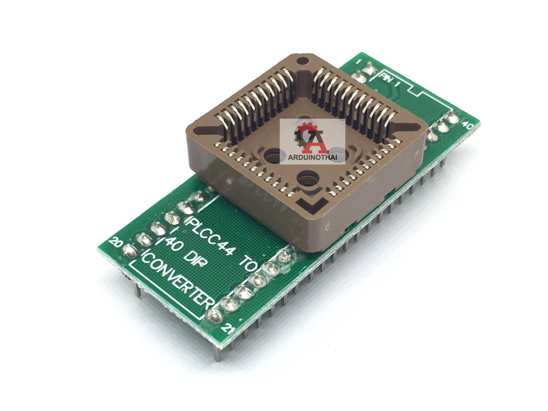 PLCC44 to DIP40 IC Test Adapter Module