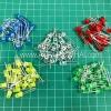 5mm LED Pack จำนวน100ดวง 5สี สีละ20ดวง