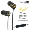 ขาย หูฟัง Altec Lansing MUZX Core หูฟังพร้อมไมค์ และปุ่มรับสายเปลี่ยนเพลง เสียงหนักแน่นดุดัน สำหรับมือถือ