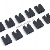 Jumper cap 2 Pins Female Pitch 2.54mm (Black)
