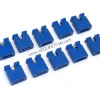 Jumper cap 2 Pins Female Pitch 2.54mm (Blue)