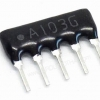 Resistor Network Array 5pin (10K) จำนวน 5ตัว