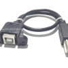 3D Printer port USB B-type extension cable (ยาว 30 cm)