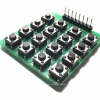 4x4 Matrix 16 Keypad Keyboard Module