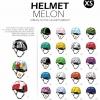 Helmet-หมวกกันน็อค Melon