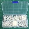 ชุดกล่อง M3 Nylon Hex Spacers/ Screw/ Nut Stand-off (สีขาว 180ชิ้น)