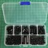 ชุดกล่อง M3 Nylon Hex Spacers/ Screw/ Nut Stand-off (สีดำ 180ชิ้น)