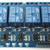 4 Channel Relay (10A) with Optocoupler Module