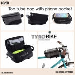 B026D TOP TUBE BAG WITH PHONE POCKET