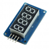 4 Bits Digital Tube LED Display