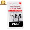 ขาย OKER หูฟังสมาร์ทโฟน รุ่น H-05 เสียงดี เบสแน่น จุกนิ่มใส่สบาย