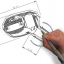 ขาย หูฟัง TTPOD T2E หูฟัง3 Driver (2BA 1Dynamic) สายชุบเงิน รุ่นเบสหนัก - สีน้ำเงินใส thumbnail 2