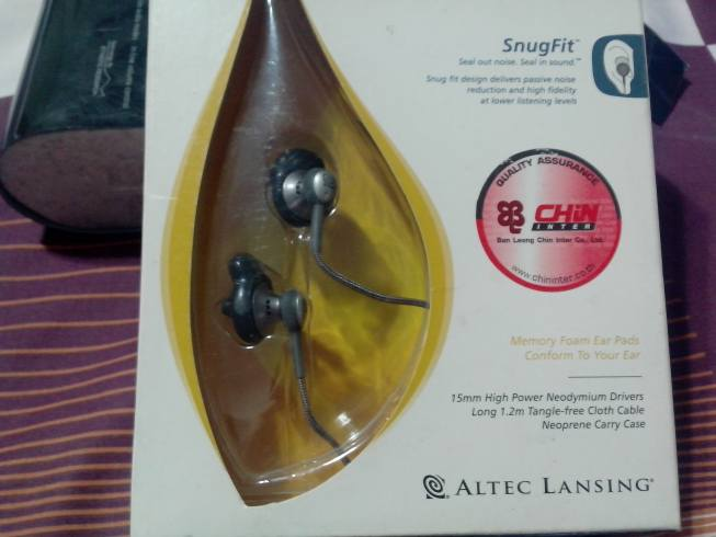 ขาย หูฟัง Altec Lansing Snug Fit FoamPad หูฟังย้อนยุคในตำนานราคาเบาๆ