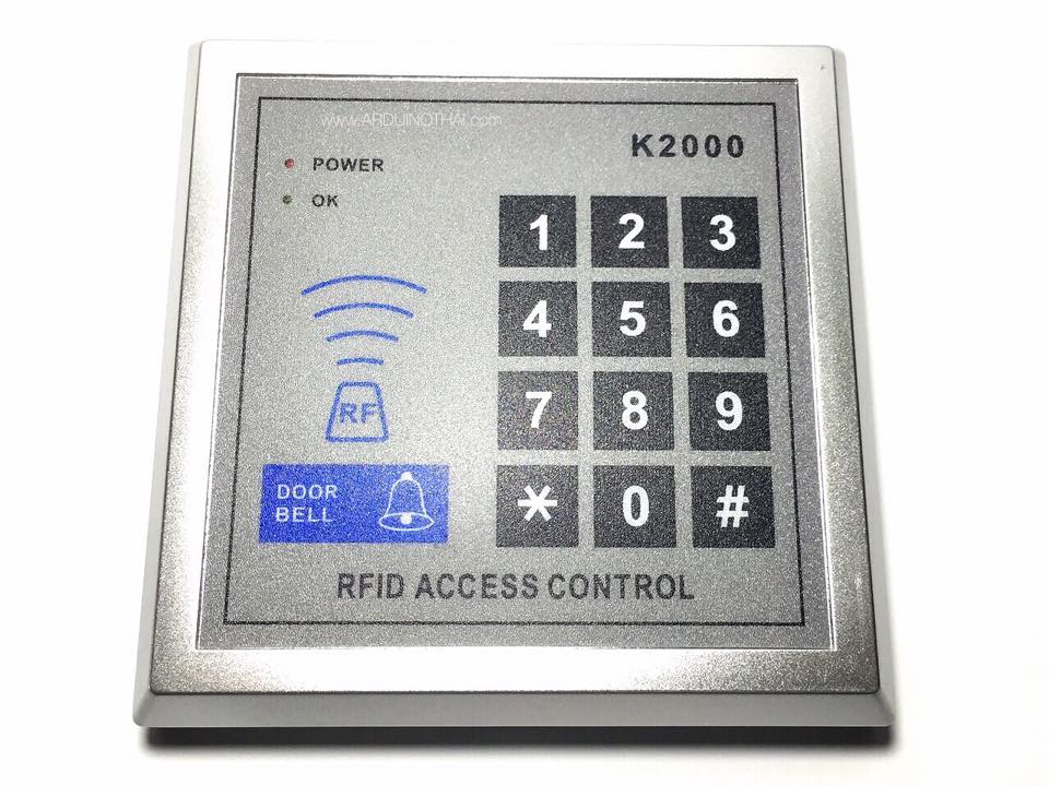 RFID Security Entry Door Lock Access Control System K2000 + 10 key Tags