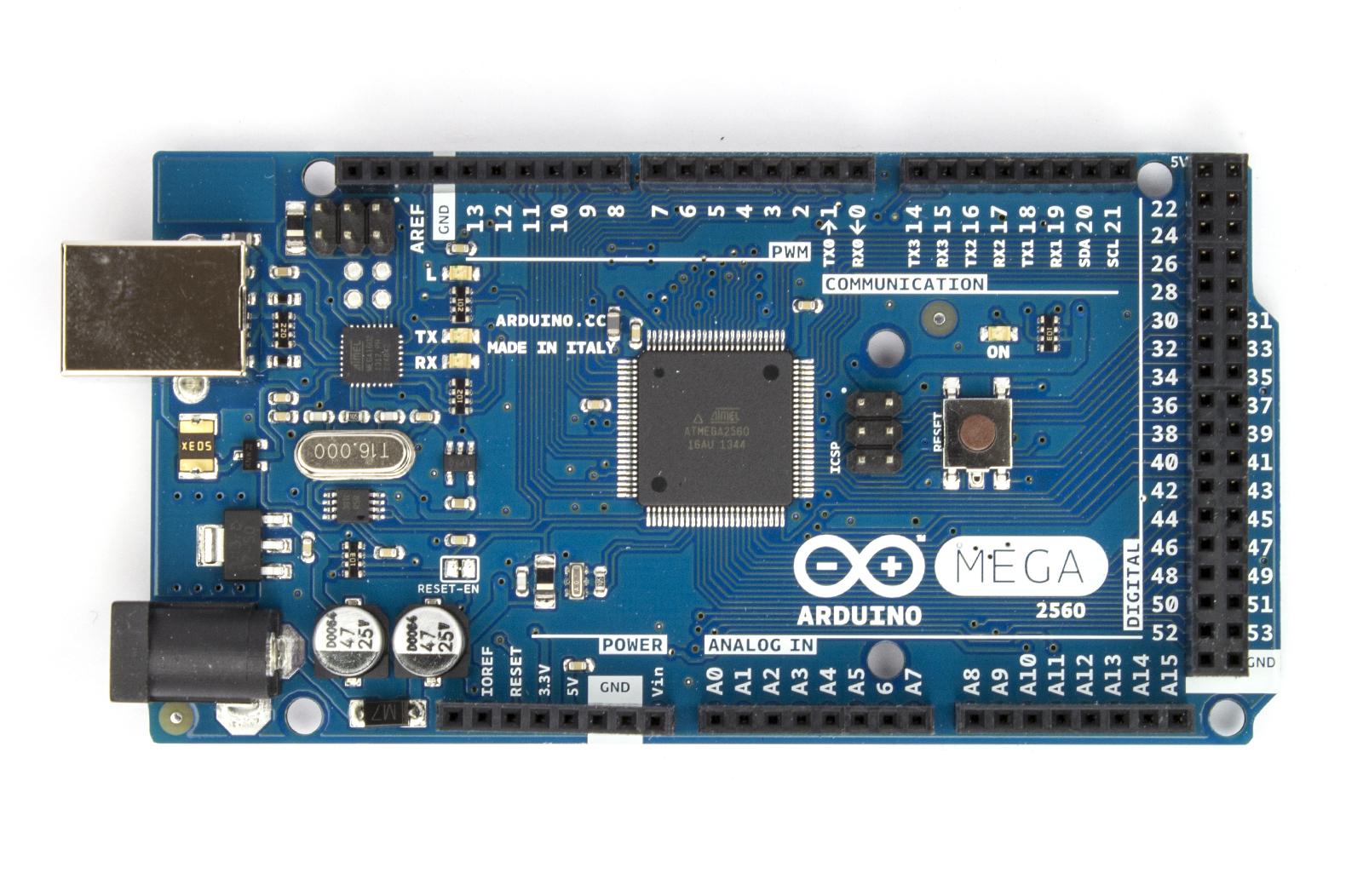 Arduino MEGA 2560 R3 จำนวน 3 ชุด (แถมสาย USB)