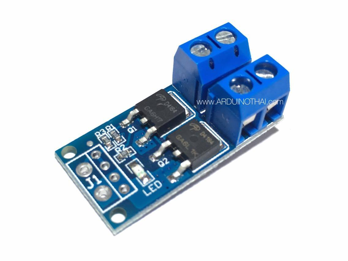 High-power MOS tube FET trigger switch driver module