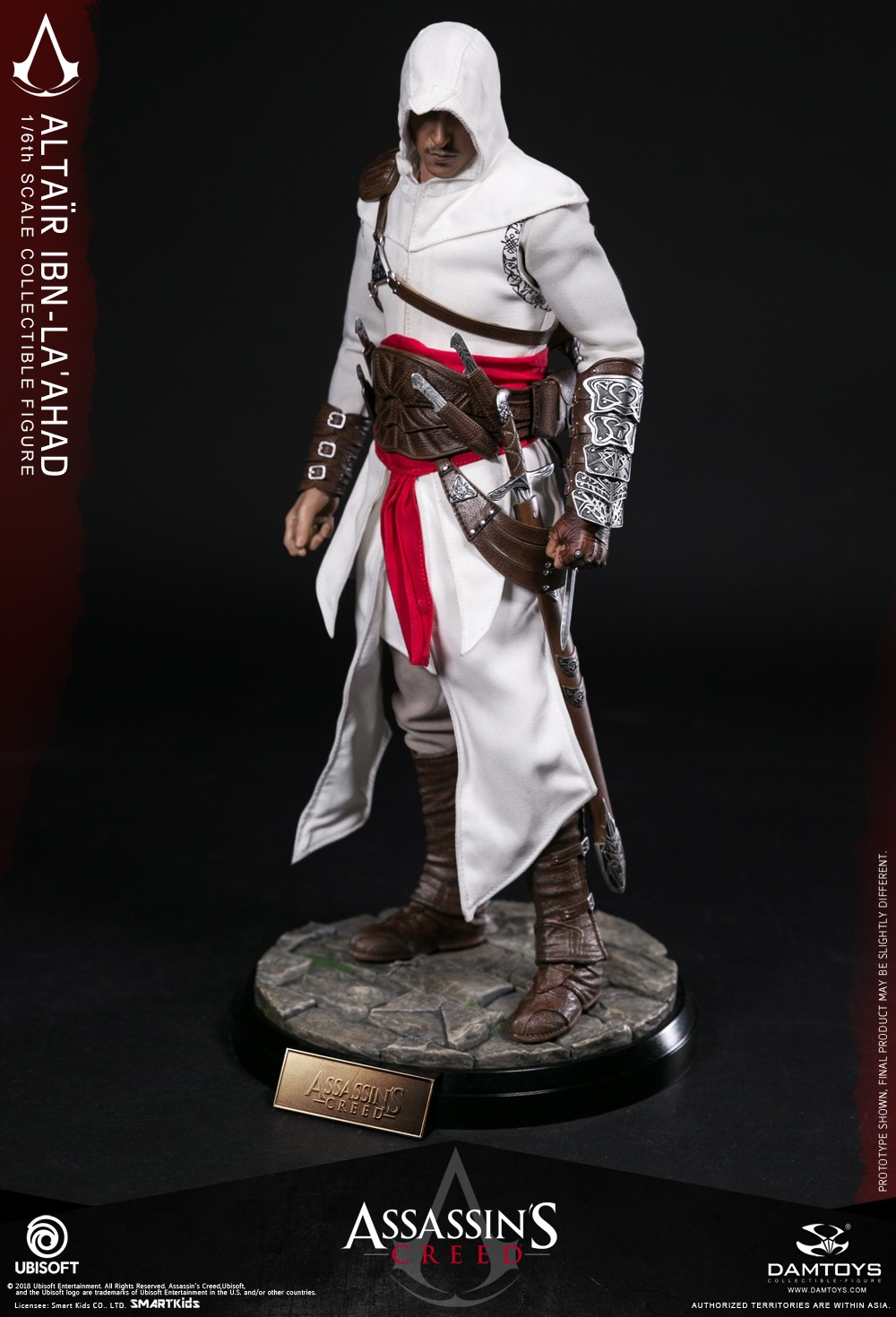 """1//6 Scale DAMTOYS DMS005 /""""Assassin/'s Creed/"""" Altaïr the Mentor IN STOCK"""