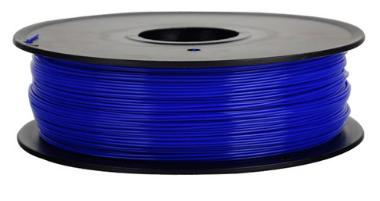 เส้นวัสดุ PLA ม้วนละ 1 กิโลกรัม (สีน้ำเงิน)