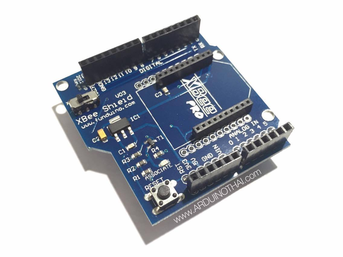 Xbee expansion board V3 (Shield for arduino uno)