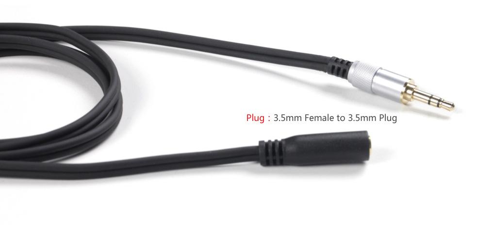 ขาย FiiO RC-UX1 สายต่อเพิ่มความยาว 1 เมตรแบบ 3.5mm Extension Cable สำหรับหูฟังทุกชนิดที่ใช้แบบ 3.5mm !!
