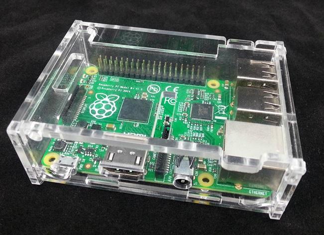 case for Raspberry Pi model B+