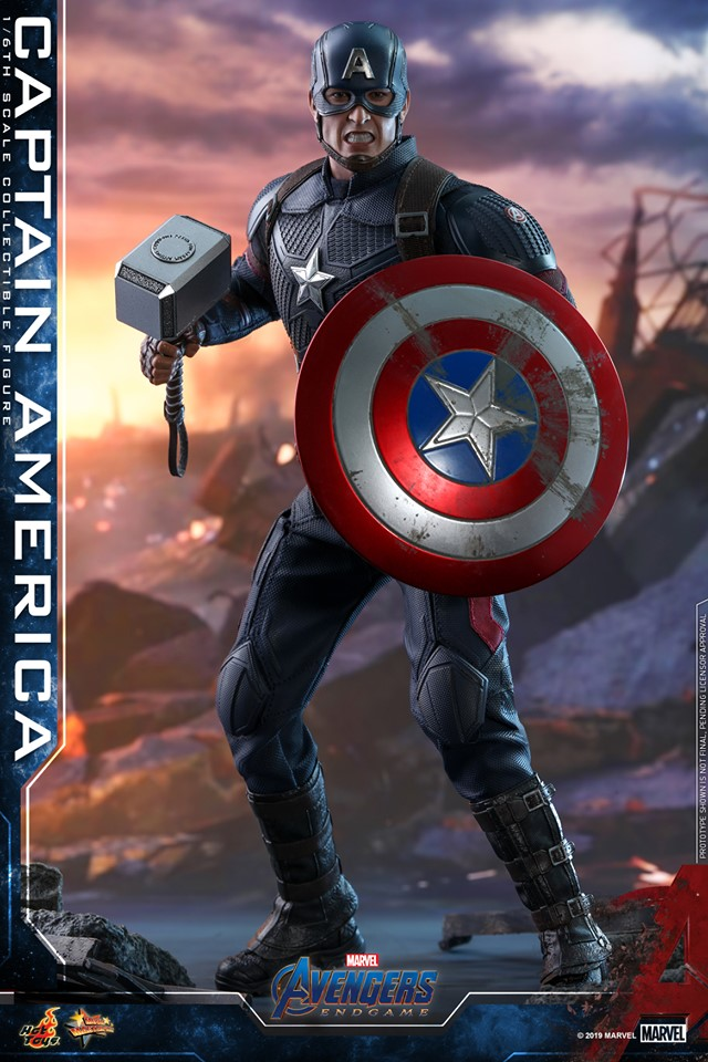 """12/"""" Super Hero Avengers Action Figure Collectible Toy Model Captain America,"""